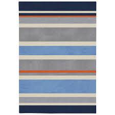 wondrous blue striped rug stylist design surya chic gray hand tufted