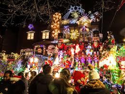 Dyker Heights Christmas Lights Tour 2017 Dyker Heights Christmas Lights By Car Pogot