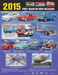 new model car kit releasesRevell 2015 1st Quarter new releases  scale  Pinterest