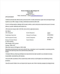 Office Manager Job Resume Bank Branch Manager Resume This Bank