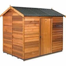 cedar garden shed. Cedar Garden Shed Steel Roof
