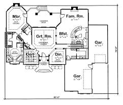 House Plan at FamilyHomePlans comFlorida Mediterranean Southwest House Plan Level One