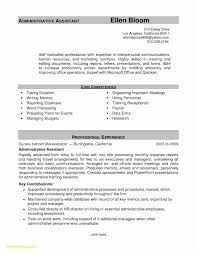 Clerical Assistant Resume Limited Resume Fice Assistant Luxury