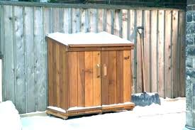 wood garbage shed wood garbage shed trash can storage bins home depot design ideas new plans