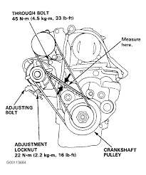 1992 honda accord serpentine belt routing and timing belt diagrams rh 2carpros 1992 honda prelude