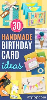 printable children s birthday cards 30 handmade birthday card ideas