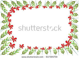 Small Picture Vector Garden Border Stock Vector 647305750 Shutterstock
