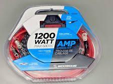 scosche car audio amplifier kit scosche 1200 watt amp wiring kit kpa6 2 channel amplifier car audio vehicle