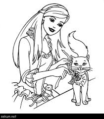 Barbie Horse Coloring Pages Free Inspirationa Barbie Coloring Pages
