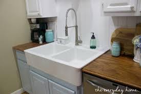 Drop In Farmhouse Kitchen Sink Ikea Farmhouse Sink The Everyday Home