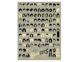 Details About Pop Chart Labs Haircuts In Pop Poster History Of Music By Luckies