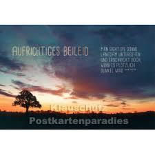 Stilvolle Trauer Postkarten Und Doppelkarten