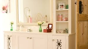 for a complete storage solution these made to measure dressers combine a base cupboard with customisable shelving above