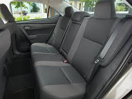 2018 toyota corolla spacious backseat