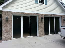 garage door with screen garage door screen kits menards