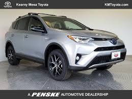 2018 New Toyota RAV4 Hybrid SE AWD at Kearny Mesa Toyota Serving ...