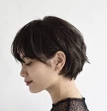 2017年冬のトレンドとして短めのヘアスタイルが人気あります特に肩