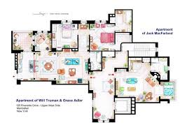 Floor Plans Of Homes From Famous TV ShowsTv House Floor Plans