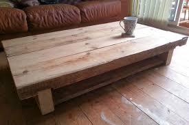 oak sleeper coffee tables decor inspiration 800 533
