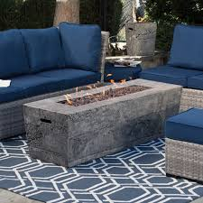 60 in gas fire pit table with free cover fire pits at hayneedle
