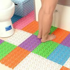 30 20cm candy colors plastic bath mats easy bathroom massage carpet shower room rubber non slip mat tapis salle hy1087 by haiyang155