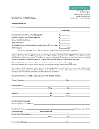 Design Contract Template Pdf Image Result For Home Staging Contract Template Home