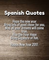 Dreams Quotes In English Best of Happy New Year 24 Quotes Happy Newyear Quotes In Spanish 24