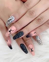 Nail Art Spider Web Design 50 Trendy Spider Web Nail Art Designs For Halloween Page