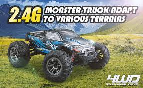 Hosim 1:16 Scale <b>4WD</b> 36km/h High Speed <b>RC</b> Truck 9130 Remote ...