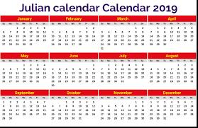 Julian Calendar 2019 Magdalene Project Org