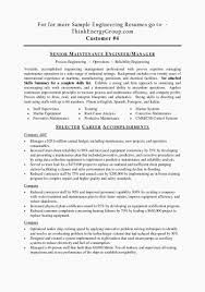 Sample Resumes For Mechanical Engineers Best of Military Electrical Engineer Sample Resume Fresh Sample Resume