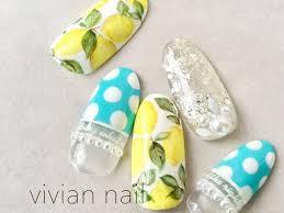 夏っぽさを爪から楽しむ2016夏の旬ネイルデザイン3つ安齋梨恵