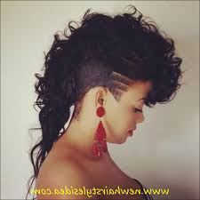 Black Hairstyles Mohawks Mohawk Shaved Sides For Black African Ladies Jazzy Mohawk