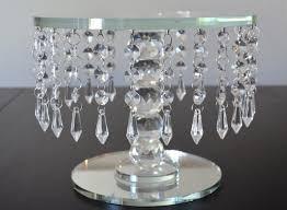 splendid crystal cake stand crystal cake stand round wedding