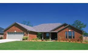 brick home plans brick home ranch style house plans with regard to