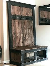 Building A Coat Rack Bench Diy Coat Rack With Bench Full Image For Entry Bench Coat Rack Coat 15