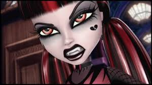 monster high draculaura shadow version 13 wishes makeup tutorial