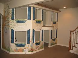 basement ideas for kids. Wonderful Basement Playroom Design Next To The Stair Ideas For Kids