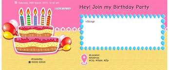 Invitations Card For Birthday Free Birthday Invitation Card Online Invitations