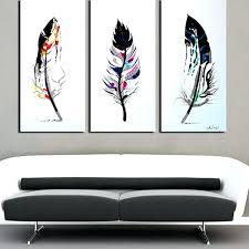 3 piece wall art sets decor canvas painting set of three oversized framed
