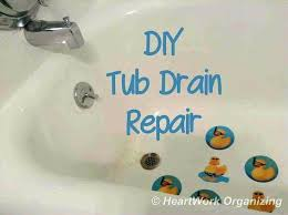 replacing a bathtub drain stopper how to fix bathtub stopper new post trending how to make