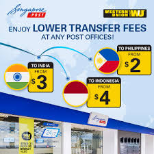 Western Union Transfer Fees Chart 2018 Western Union Money Transfer Singapore Post