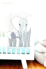 baby elephant rug a modern c aqua safari nursery crochet bunting baby elephant rug