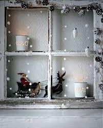 Shabby Chic Fensterdeko Weihnachten Xmas Christmas