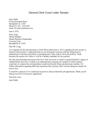 Marvelous General Cover Letters Examples Example The Best Letter