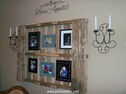 diy wooden pallet image gallery pallet wall decor