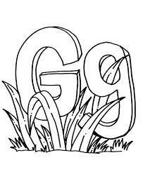 letter g goat coloring pages for kindergarten 3 billy goats