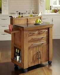 Kitchen Island Bench Small With Stools Narrow Cart Rustic On Wheels