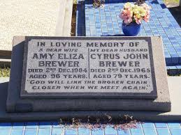 Cyrus John Brewer (1886 - 1965) - Genealogy