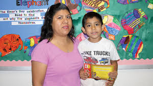 mother s day essay contest san benito news javier sosa and mom